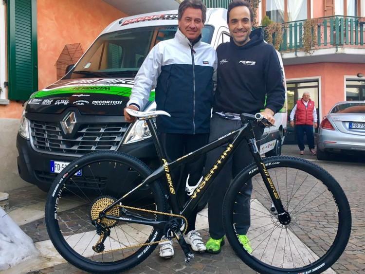FM Bike e Roberto Visentini