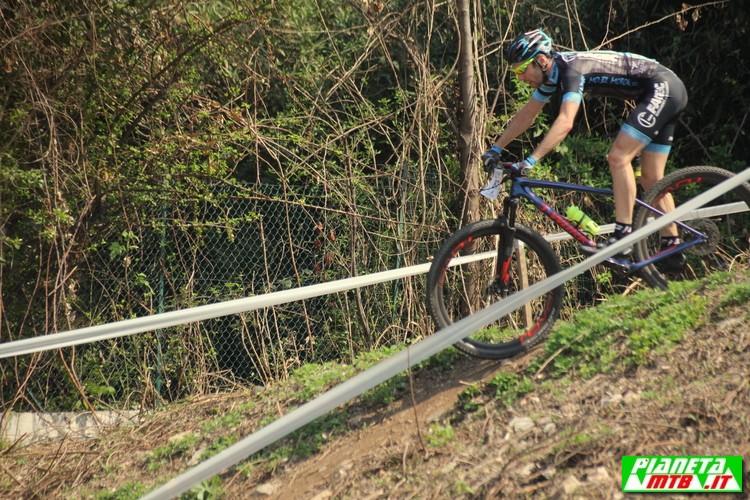 Allenamento in mountain bike
