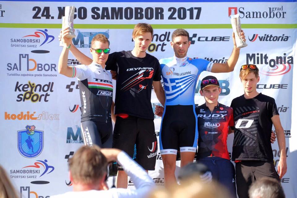 Luca Braidot vince Samobor XCO