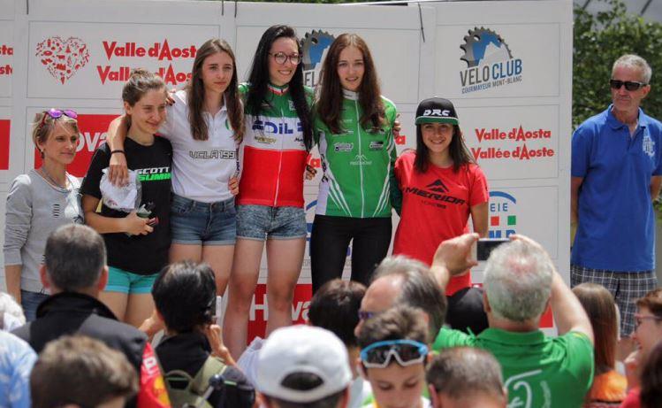 Merida Italia Team a Courmayeur