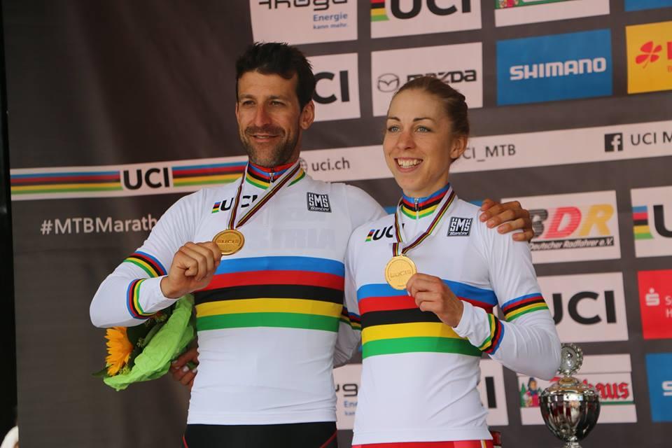Singen vincitori del mondiale marathon di mountain bike 2017