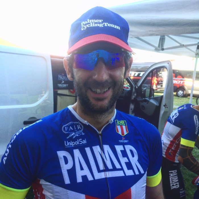 Palmer Cycling team a Soave