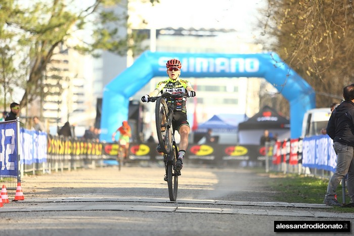 UCI Junior Series Milano - Il podio