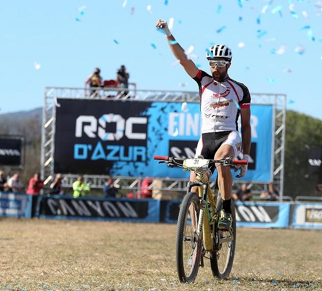 Il vincitore della Roc d'Azur 2017, Nicola Rohrbach